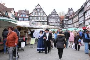 Werbeaktion Frühlingsball Wochenmarkt Ostersamstag 04
